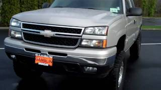 Lifted 2006 Chevrolet Silverado 1500 Extended Cab 4X4 Art Gamblin Motors Tim Smitty Smith V2048 videos