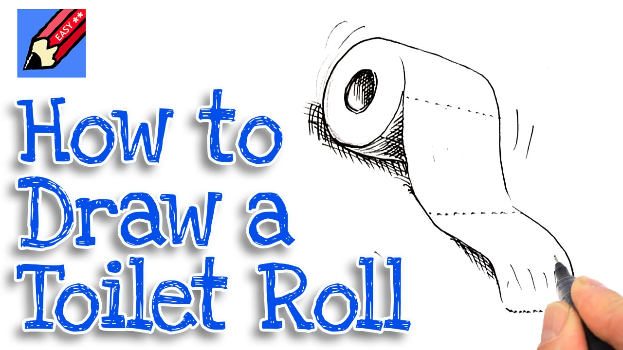 How to draw a toilet roll Real Easy - Spoken Tutorial ...