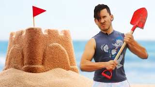 Markiplier Makes: A Sand Castle
