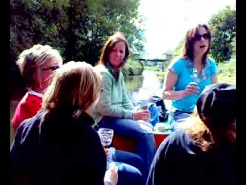 Vets Boat Trip on The Marple to Macclesfield Canal. 2008.