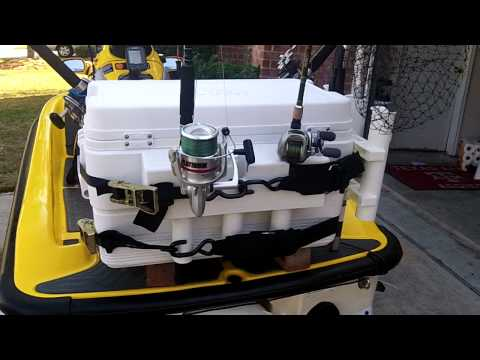 Jet Ski Cooler Rack thats very in-expensive! - YouTube
