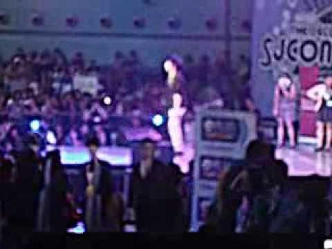 [FANCAM] Yuki's OCTOPUS DANCE! (Yesung cosplayer) Mr. Simple Candidate '13~