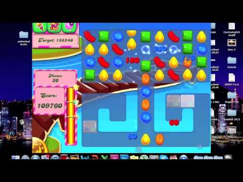 Candy Crush Saga - HOW TO DO 133 - YouTube