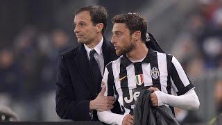 LIVE IN ITALIANO - La conferenza stampa di Allegri e Marchisio al Media Day Juventus