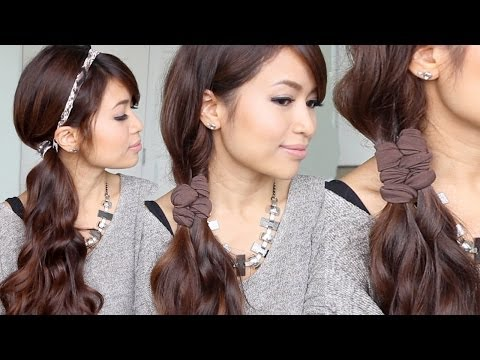 Easy Faux Braid Headband Hairstyles + GIVEAWAY