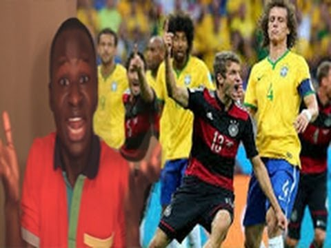 Brazil vs Germany World Cup 2014 Reaction. Germany 7 Brazil 1