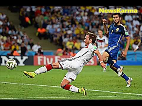 Highlights Germany vs Argentina Goal 1-0 World Cup Final 2014