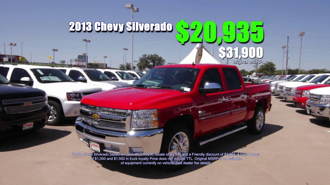 friendly chevrolet dallas tx irving area chevy dealer. Cars Review. Best American Auto & Cars Review