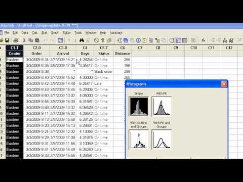 How to Get Started using Minitab 16