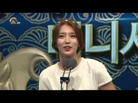 [HOT] MBC 연기대상 2부 - 최우수연기상 미니시리즈 여자, 배수지 20131230