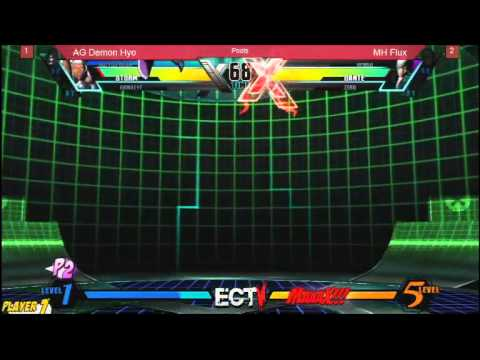 East Coast Throwdown 5:  Ultimate Marvel VS Capcom 3 AG Demon Hyo vs MH Flux