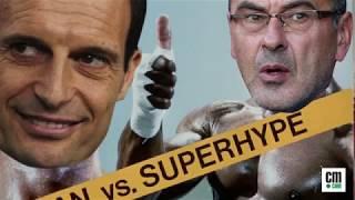Juve-Napoli come in Rocky IV: Sarri sfida Allegri, che scontro!