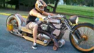 Rat Rod Bike – Redneck Limo