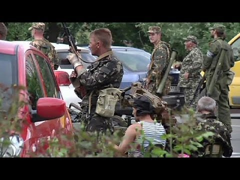 Tensions high in Donetsk as rebels claim to repatriate dead