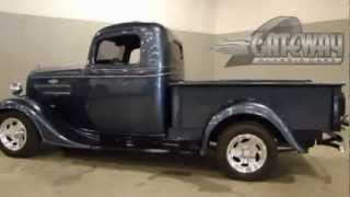 Classic 1936 Chevrolet 1/2 Ton Pick Up (street Rod) For