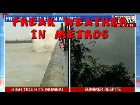 Delhi cooled off by westerlies