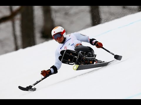 Akira Kano | Men's super-G sitting | Sochi 2014 Paralympic Winter Games