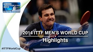 Review all the highlights from the MATTENET Adrien FRA vs BOLL Timo 1/16 first stage table tennis match at the 2014 Men&#39;s...</div><div class=