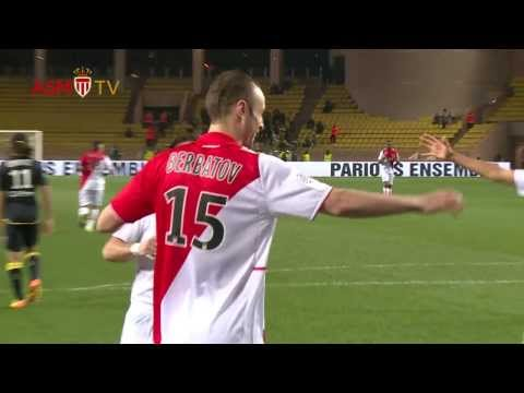First Dimitar Berbatov's goal in Ligue 1