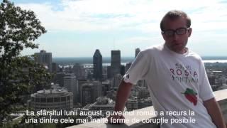 Radu Păltineanu, Canada: Solidaritate cu Roșia Montană