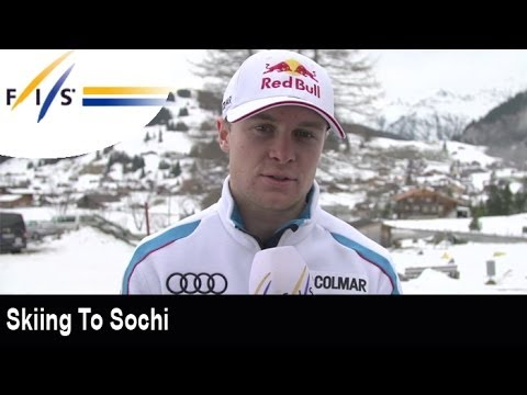 Skiing to Sochi with Alexis Pinturault