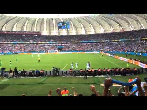 Nigeria-Argentina 2-3 25-06-2014 Gol Live Marcos Rojo
