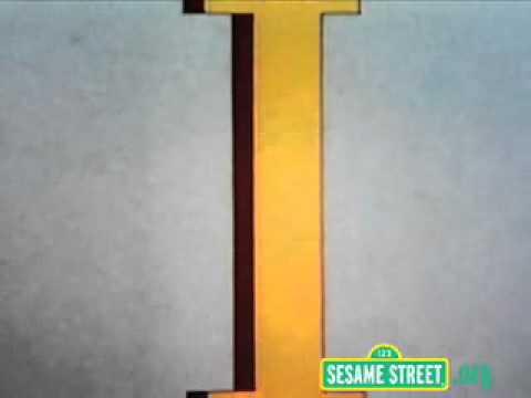 Sesame Street Letter I