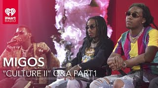 Migos 'Culture II' Interview - Part1 | iHeartRadio Album Release Party