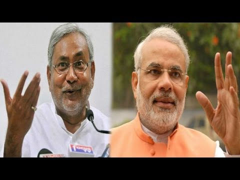 Nitish Kumar dares Narendra Modi to an open Debate