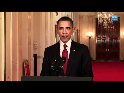 OFFICIAL FULL SPEECH (HD) President Obama's Statement About Osama Bin Laden's Death