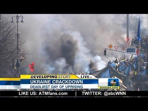 Deadly Ukraine Protests Leave Dozens Dead