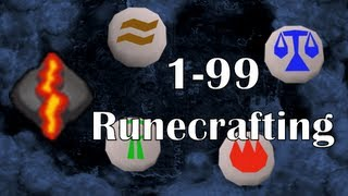 RS07: 1-99 Runecrafting Guide Fastest Training Methods