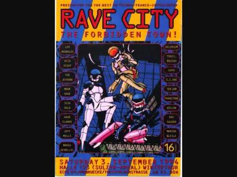 Jeff Mills Vs Dave Clarke At Rave City Winterthur 03 09