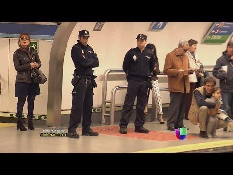 Carteristas al descubierto en el metro de Madrid