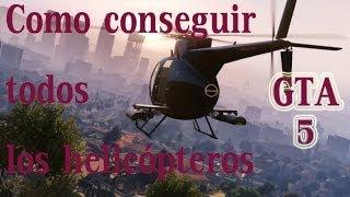 GTA 5 HELICOPTEROS Y SUS UBICACIONES