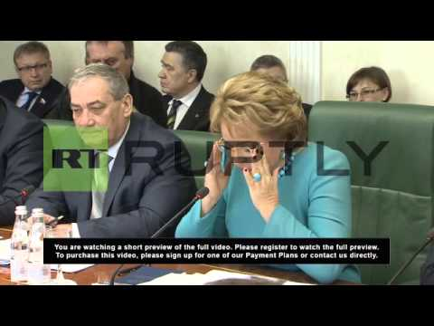 Russia: Crimea would be an equal in the Russian Federation - Matviyenko