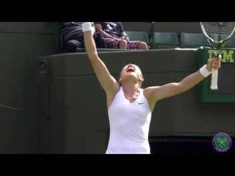 Semi-final showdown...Petra Kvitova v Lucie Safarova - Wimbledon 2014