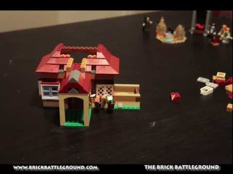 Lego Set #4840 The Burrows - Brick Battleground Timelapse Build Part 1