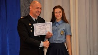 У ХНУВС відбувся перший випуск кадетів поліції