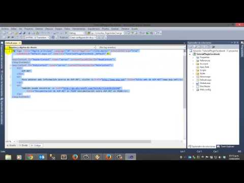PLUGING FACEBOOK PARA ASP.NET - YouTube