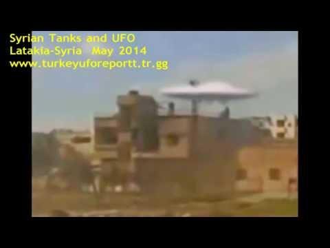 UFO and Syrian Tanks-May-2014-Latakia-HD AVI Video