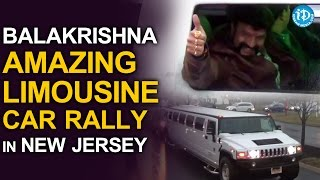 Balakrishna Amazing Limousine Car Rally in New Jersey- GPS..