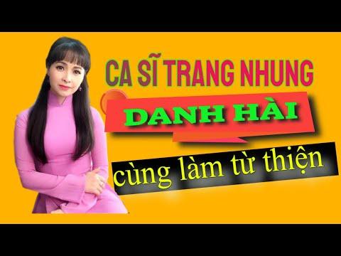 Nghe si hài Minh Beo, Thanh Tung, Trang Nhung den binh vien Cho Ray