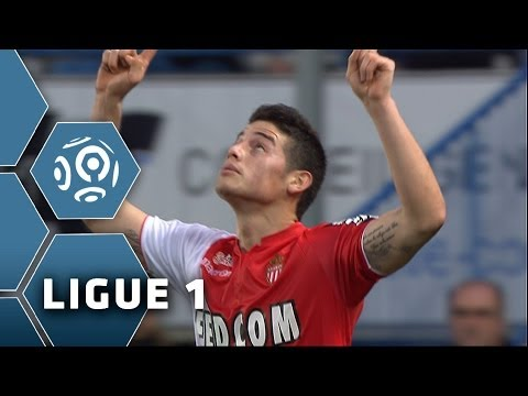 2 goals for James Rodriguez - His first BRACE in Ligue 1 - Bastia-Monaco (0-2) - 2013/2014
