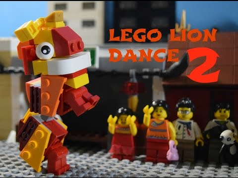 Lego Lion Dance 2