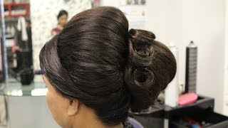 Beehive Hairstyle | Indian, Pakistani, Asian Bridal Hair Style | Wedding Hairstyles for Short Hair