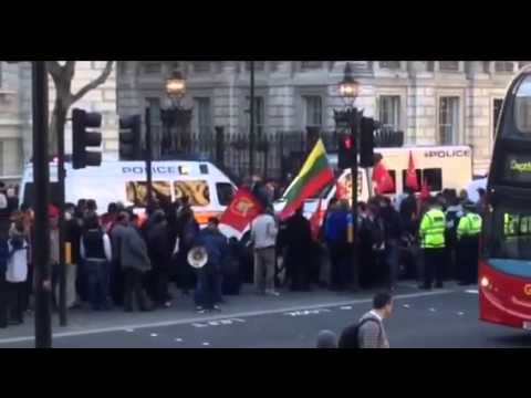 Tamils demonstrate in London calling for release Jeyakumari