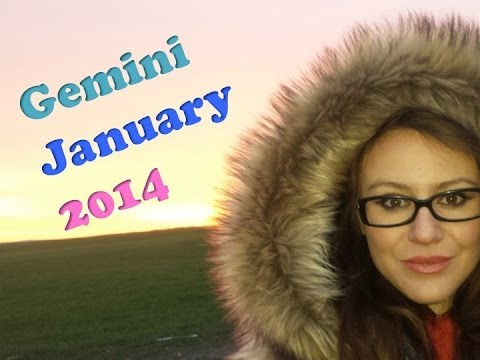 GEMINI JANUARY 2014 with astrolada.com