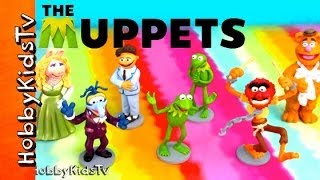 Disney Muppets Movie Characters [Box Opening] [Toy Review