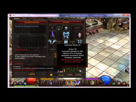 Mu Online Global-Set Lucky Sistem